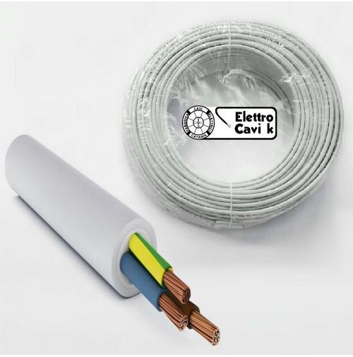 CAVO ELETTRICO FR2OHH2R SCHERMATO 8x0,22 mm² MULTIPOLARE 8 POLI 10 METRI