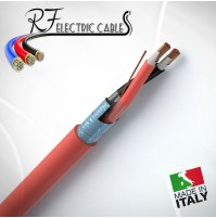 CAVO FTE4OHM1 PH120 ANTICENDIO SCHERMATO IN RAME 2x1.5 MM² BIPOLAR 2 POLI 100 MT