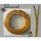 PIATTINA COSTA STRETTA ORO IN RAME 2x0,50 mm² LAMPADARI BAJOUR 100 METRI
